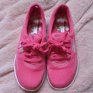 Skechers GoWalk 2 Golf Shoes Fairway Pink